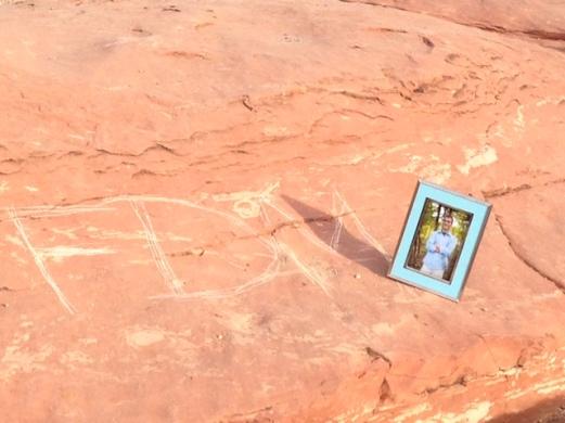 Drey's initials in AZ